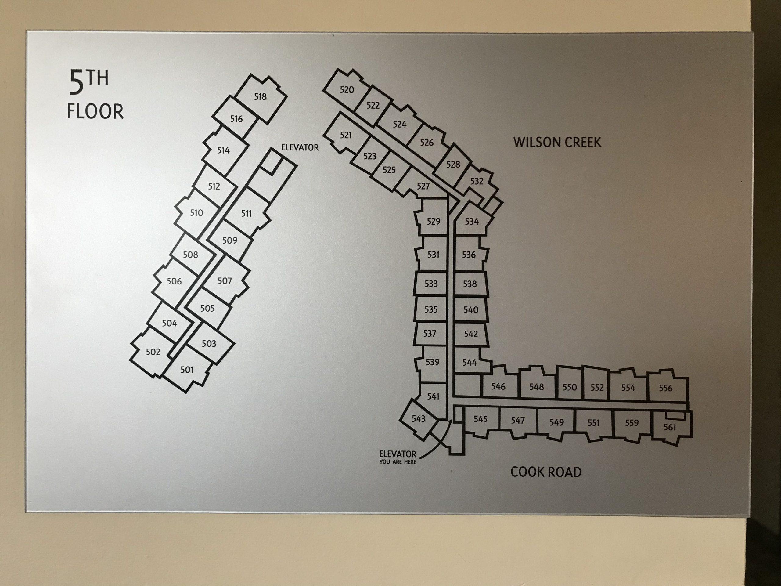 Playa Del Sol Building Map