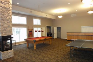 Pool table and ping pong table at Discovery Bay Clubhouse