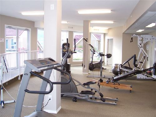aerobic machines at Discovery Bay Resort Gym