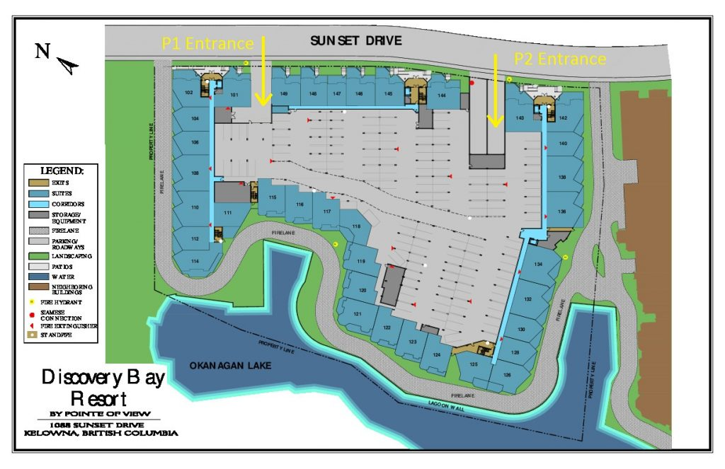 Discovery Bay Parking Map
