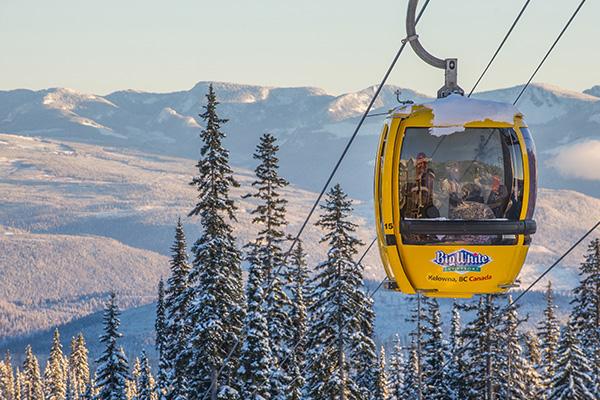 Gondola at Big White