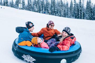 Tube Park Big White Ski Resort