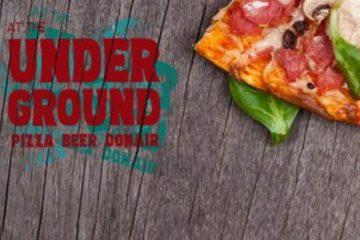Underground Pizza board