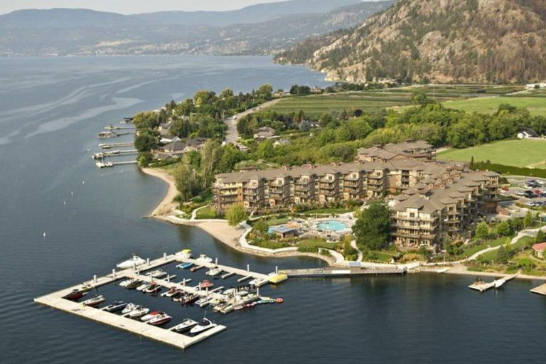 The Cove Lakeside Resort Aerial View