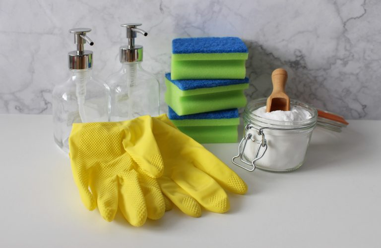 Cleaning supplies for Vacation Rental, very clean