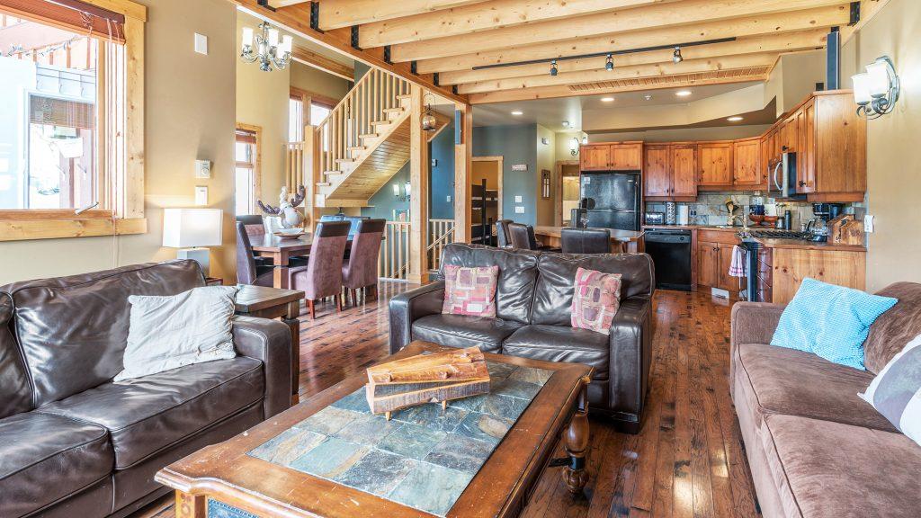 Living Room at Big White Condo